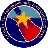 CA Exemplary Arts Award logo